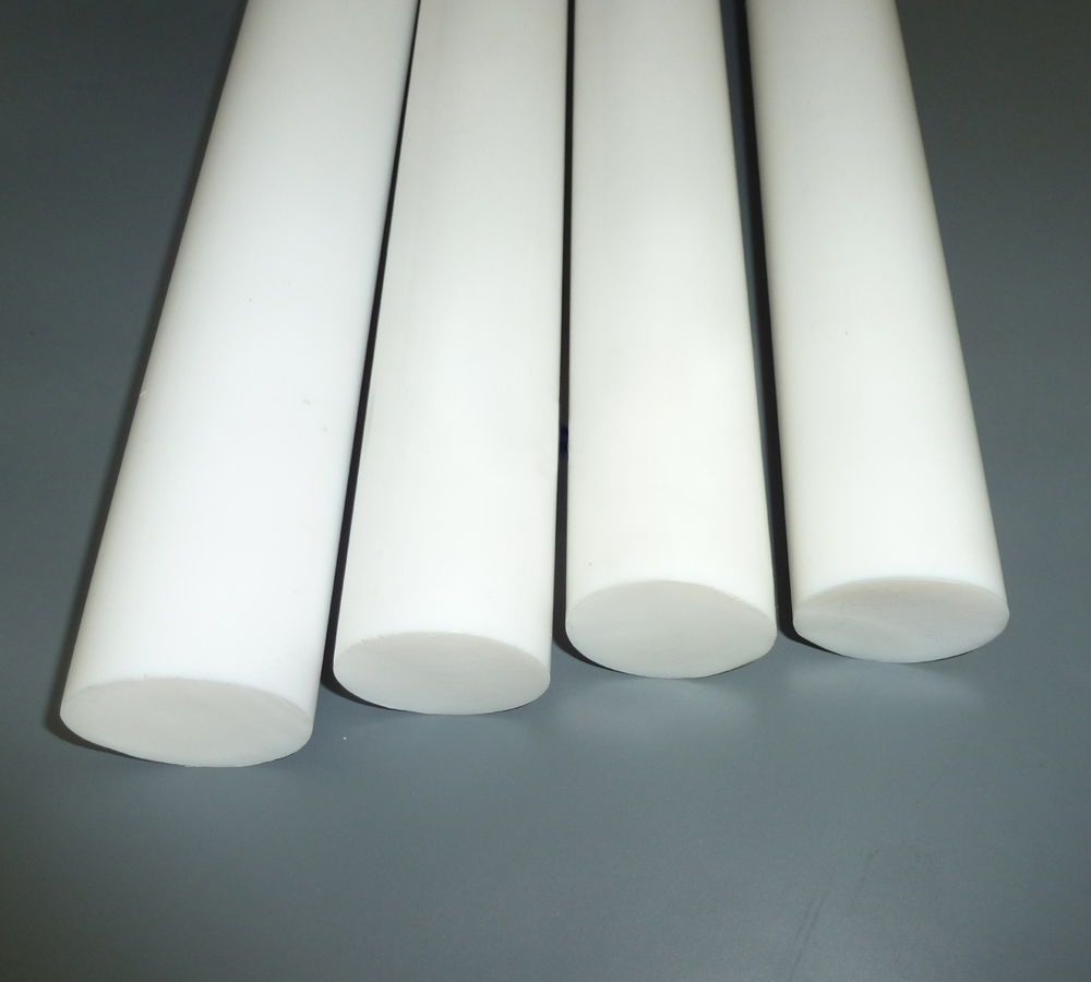 Ptfe Rod Natural Virgin Round Bar Teflon White Diameter
