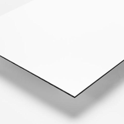 White Aluminum Composite Panel : White aluminium composite acm sheets trent plastics