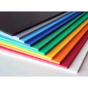 Matt Coloured Foam Sheets