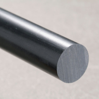 Nylon 6,6 Rod - Black