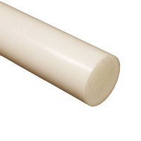 Nylon 6,6 Rod - Natural