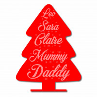 Christmas Personalised Tree