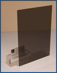 3mm Dark Tint Acrylic Perspex Plastic Sheet 1500 X 500